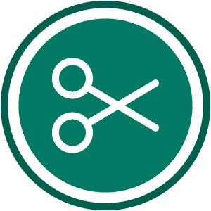 icon circle TD processing